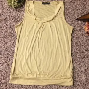 The Limited Cowl Neck Sleeveless Blouse Medium